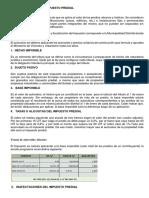 Características Del Impuesto Predial