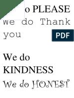 We Do Please