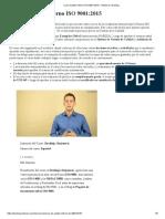 Temario Curso Auditor Interno ISO