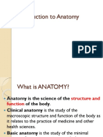 1. Introduction to Anatomy