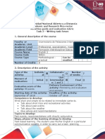 Activities Guide and Evaluation Rubric - Task 3 - Writing Task Forum (1)