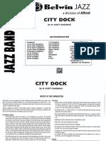 City Dock - Full Big Band - Scott Ragsdale