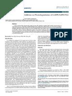 Role of Nano Zirconia Addition on Photodegradation of Lldpeldpeplablend Fil