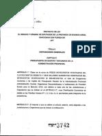 Presupuesto 2019 Vidal
