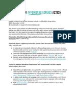 MEMO - Summary of Activity at P4ADA