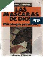 (Las Máscaras de Dios) Joseph Campbell-Las Máscaras de Dios_ Mitología Primitiva. 1-Alianza (1991)