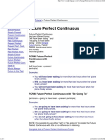 ENGLISH PAGE - Future Perfect Continuous
