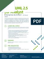 1RUP y UML 2.5 for Analyst Enterprise Architect
