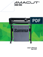 Summacut d120 User Manual