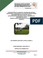 i.e Maria Inmacualda- Estudio de Suelos -Informe Geotecnico