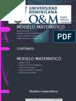 Modelo Matematico