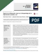 Papel de la inflamación renal en la fisiopatología de la Hipertensio sensible a sal.pdf