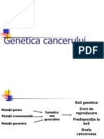 Genetica cancerului