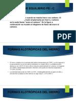 DIAGRAMA DE EQUILIBRIO Fe - C.pptx