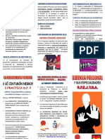 PDF DEFENSA PERSONAL Tríptico Defensa Personal y Especialidades