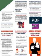 PDF DEFENSA PERSONAL Tríptico Defensa Personal y Especialidades