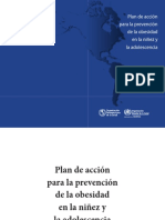 Obesity Plan of Action Child Spa 2015