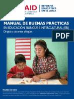 Manual de buenas practicas pedagógicos
