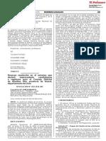 Revocan resolución en el extremo que declaró improcedente candidaturas a regidores para el Concejo Distrital de Atavillos Alto provincia de Huaral departamento de Lima