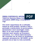 Preia Controlul Asupra Vietii Tale de Patricia Diane Cota(l)
