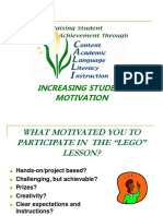 Increasing Student Motivation