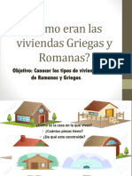 Cómo Eran Las Viviendas Griegas y Romanas