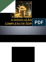 A Dissolução Do Complexo de Édipo (1924