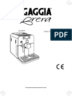 New Descaling Gaggia Brera - English