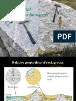 Rocas Igneas Intrusivas Ambiental