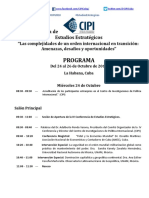 1Programa IV Conferencia de Estudios Estrategicos 2018 Version Final