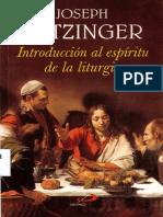 Introucción Al Espiritu de La Liturgia