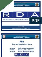 Presentación Final RDA