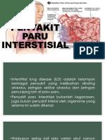 PENYAKIT PARU INTERSTISIAL