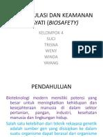 Bioregulasi Dan Keamanan Hayati (Biosafety)