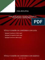 Oea Bolivia