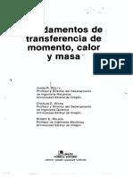 248519666 Fundamentos de Transferencia de Momento Calor y Masa 5ta Edicion James Welty