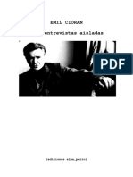 Cioran, Emil - 6 Entrevistas Aisladas.pdf