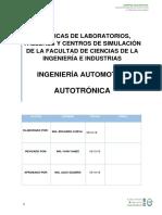 Autotrónica Guías de Práctica Período Oct 2018-Feb 2019