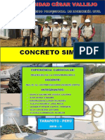 CONCRETO SIMPLE - Tarapoto 2018 - II