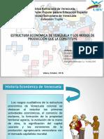 La Estructura Economica de Venezuela