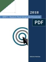 Derecho Procesal 2018