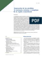 CABEZA Y CUELLO - Reparación de Las Pérdidas de Sustancia Extensas o Complejas de La Region Craneofacial