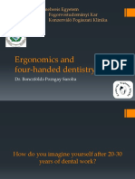 Ergonomics and Four Handed Dentistry Handout