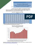 Registro administrativo de la industria automotriz de vehículos ligeros
