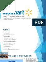 Walmart SCM Presentation