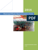 Waste Characterization Study Report May 2014