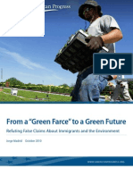"From a ""Green Farce"" to a Green Future"