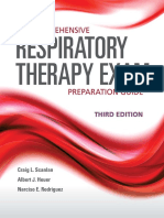 1. Respiratory Therapy Exam 3rd