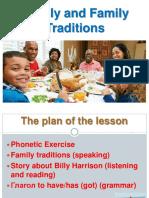 семья и традиции