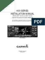 400 Series Installation Manual Rev. S (STC PERMISSION)